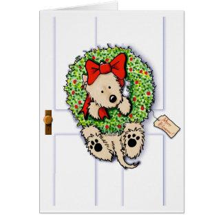 Holiday Wreath Wrangler Card