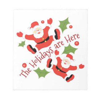Holidays Are Here Notepad