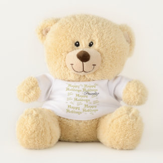 holidays,Personalize, template, teddy, bear, toy, Teddy Bear
