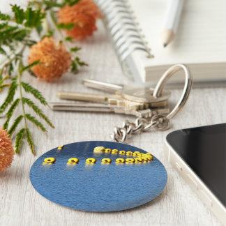 Holidays remember key ring