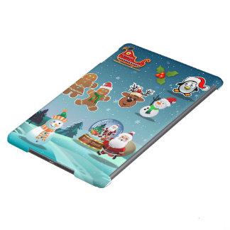 Holidays Scene iPad Air Covers