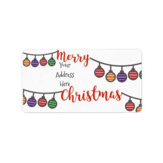 #holidayZ - Merry Christmas! Label