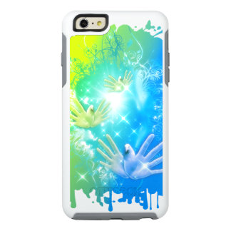 holiES - Flying Hands Pigeons ART OtterBox iPhone 6/6s Plus Case