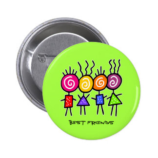 holiES - HOLI BEST FRIENDS + your ideas 6 Cm Round Badge