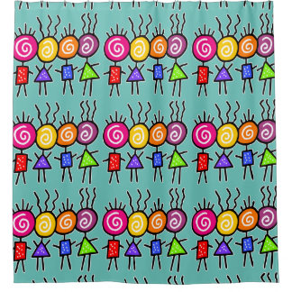 holiES - HOLI BEST FRIENDS + your ideas Shower Curtain