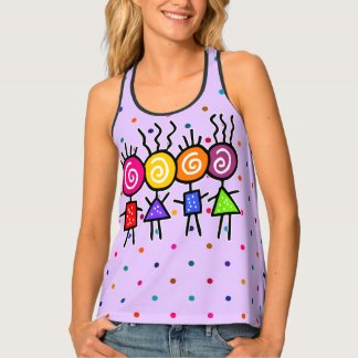 holiES - HOLI BEST FRIENDS + your ideas Tank Top