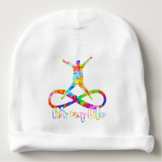 holiES - Lemniscate - It's my Life Person Baby Beanie