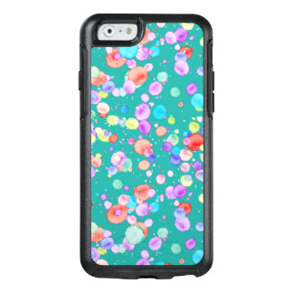 holiES - Splatter multicolored 1 + your backgr. OtterBox iPhone 6/6s Case