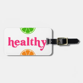Holistic-Human-Herbivore Luggage Tag