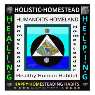 HOLISTIC HUMAN HOMESTEAD-HOMELAND ACRYLIC PRINT