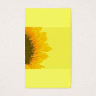 Holistic   Sunflower Gardening Business Card
