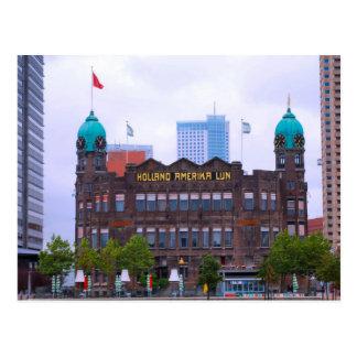 Holland America Line building, Rotterdam Postcard