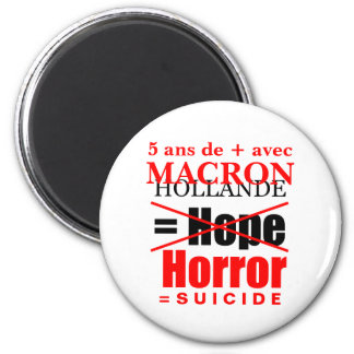 Holland and Macron it is suicide - Magnet