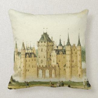 Holland Castle Netherlands Egmond Throw Pillow