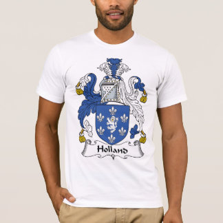 Holland Family Crest T-Shirt