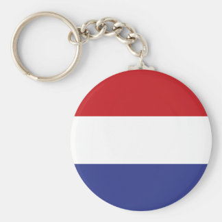 Holland flag key ring