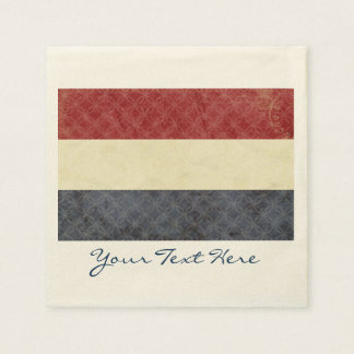 Holland Flag Party Napkins Paper Napkin
