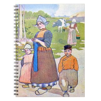 Holland Life 1906 Spiral Notebook
