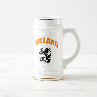 Holland lion beer stein