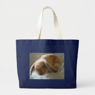 Holland Lop Eared Rabbit Totes