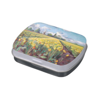Holland Michigan Tulips Jelly Belly Tins