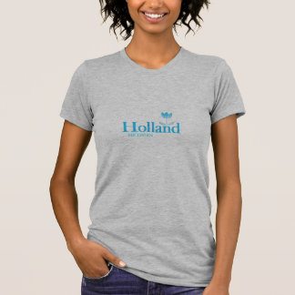 Holland, Michigan - with Blue Tulip Icon Tee Shirts