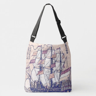 Holland Sailing Tall Ship Ocean Sea Tote Bag