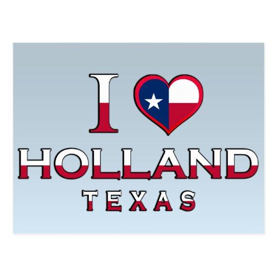 Holland, Texas Postcard