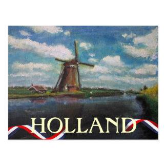 Holland Windmill Postcard