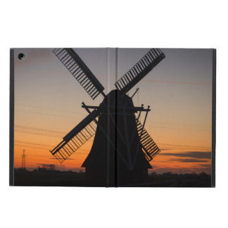 Holland Windmill Silhouette Case For iPad Air