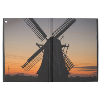 "Holland Windmill Silhouette iPad Pro 12.9"" Case"