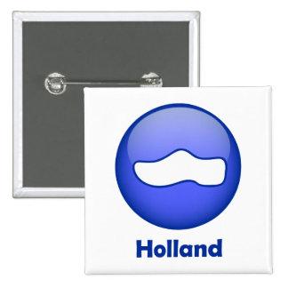 Holland Wooden Shoe Pins