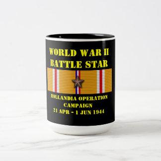 Hollandia Operation Campaign Two-Tone Mug