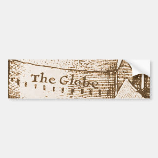 Hollar's Globe Theatre Bumper Sticker