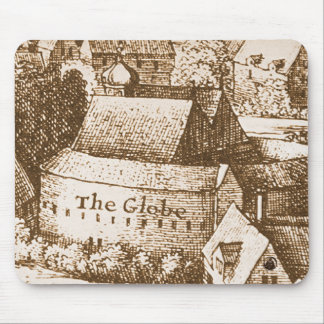 Hollar's Globe Theatre Mouse Pads