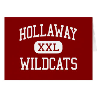 Hollaway - Wildcats - Middle - Whitehouse Texas Greeting Card