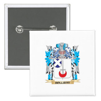 Holliday Coat of Arms - Family Crest Pin