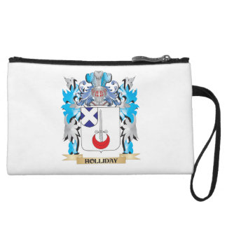 Holliday Coat of Arms - Family Crest Wristlet Purses