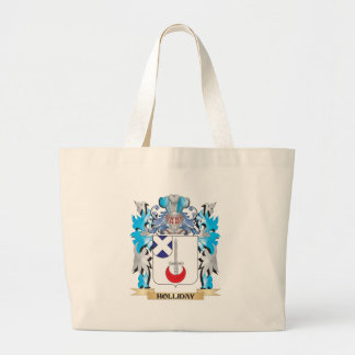 Holliday Coat of Arms - Family Crest Tote Bags