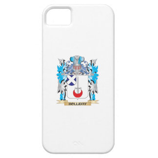 Holliday Coat of Arms - Family Crest iPhone 5 Covers