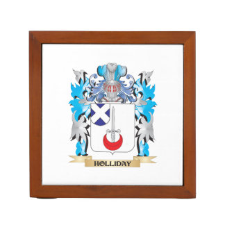 Holliday Coat of Arms - Family Crest Pencil Holder