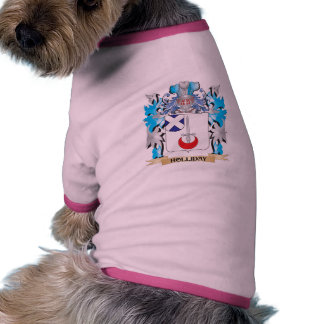 Holliday Coat of Arms - Family Crest Pet Tee Shirt