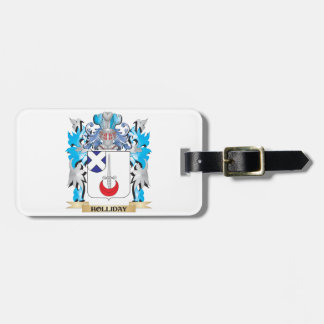 Holliday Coat of Arms - Family Crest Travel Bag Tags