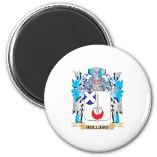Holliday Coat of Arms - Family Crest Refrigerator Magnets
