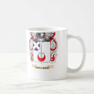 Holliday Coat of Arms (Family Crest) Mugs