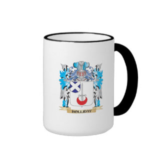 Holliday Coat of Arms - Family Crest Coffee Mug