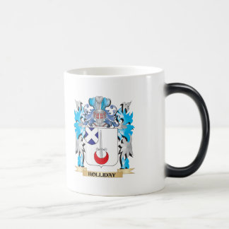 Holliday Coat of Arms - Family Crest Mugs