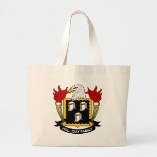 Holliday Family Crest Tote Bag