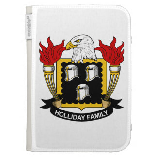 Holliday Family Crest Kindle 3G Case