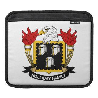 Holliday Family Crest iPad Sleeves
